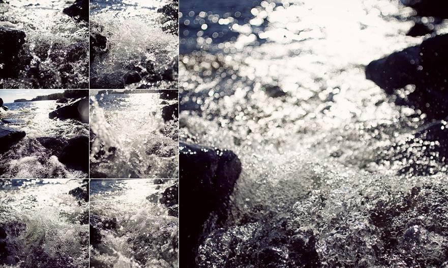 View Lake Superior Splashes