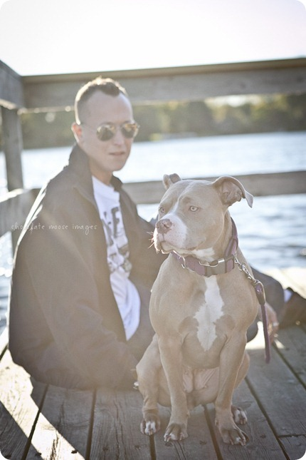 Chocolate Moose Images finally gets to work with Brooklyn, a former rescue dog from the MN Pit Bull Rescue